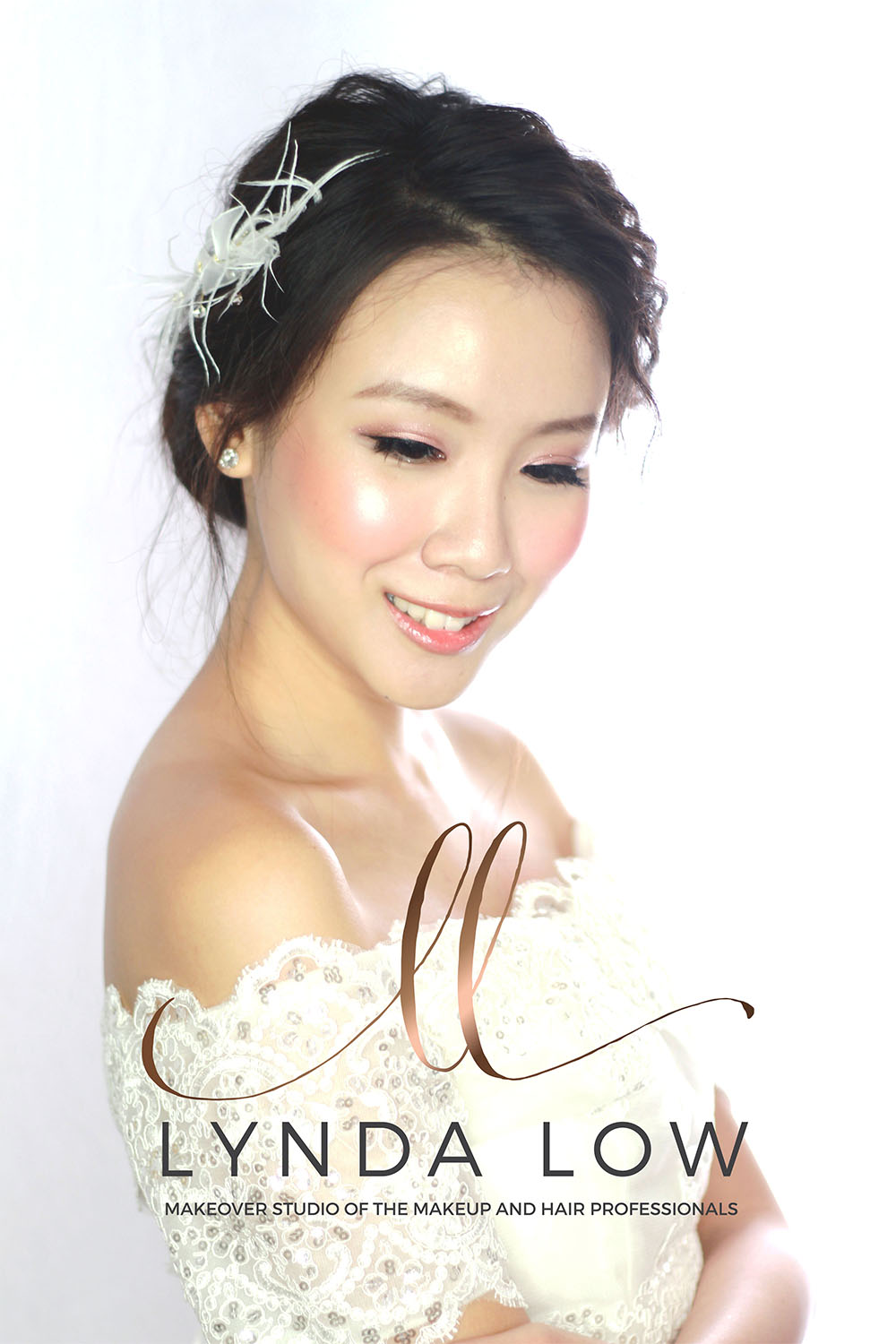 makeup artist singapore, bridal makeup artist singapore - lynda low